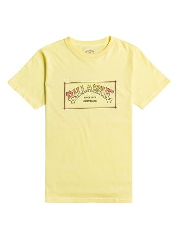 """Billabong Koszulka """"Arch"""" w kolorze żółtym"""