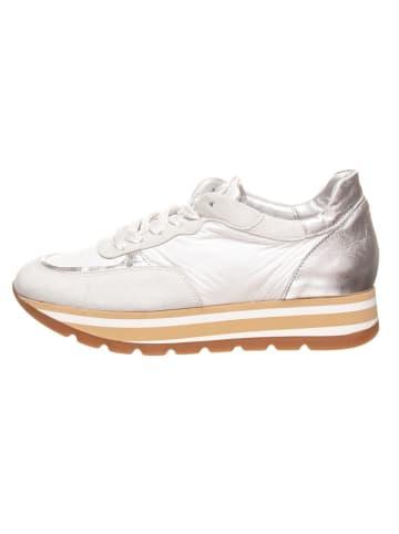 Cinque Sneakers wit/zilverkleurig