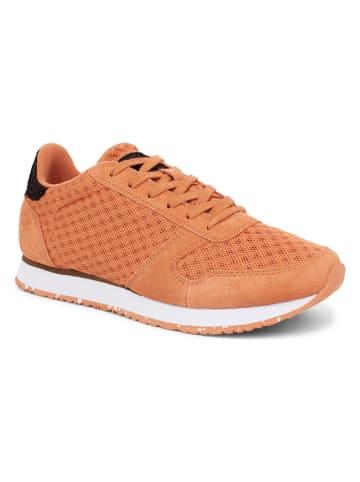 """WODEN Sneakersy """"Ydun Suede Mesh II"""" w kolorze pomarańczowym"""