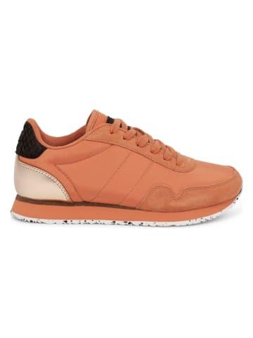 """WODEN Sneakersy """"Nora III"""" w kolorze pomarańczowym"""