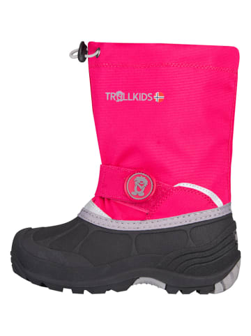 "Trollkids Winterboots ""Telemark Winter"" in Pink"