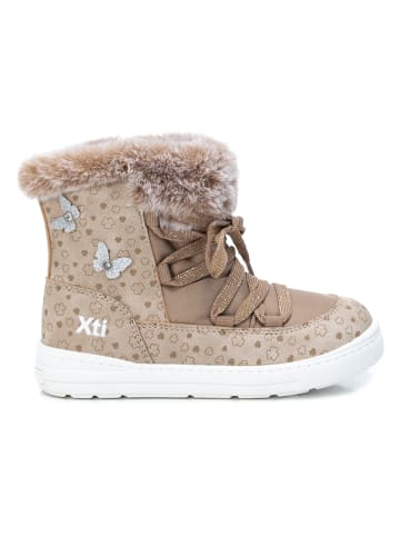 XTI Kids Winterboots in Taupe