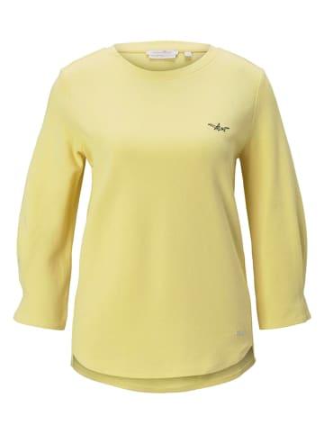 Tom Tailor Bluza w kolorze żółtym