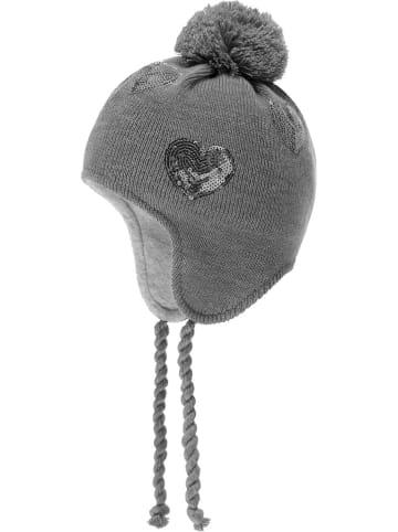 Döll Dzianinowa czapka w kolorze szarym