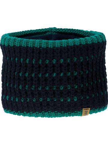 Döll Szal-koło w kolorze czarno-zielonym - 26 x 18 cm