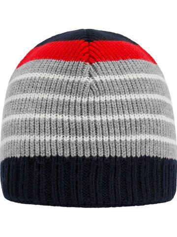 Döll Dzianinowa czapka w kolorze granatowo-szarym