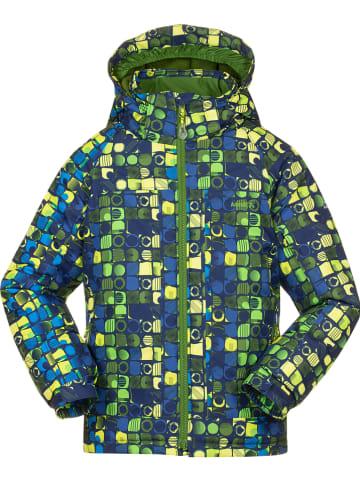 """Kamik Kurtka narciarska """"Rusty"""" w kolorze zielono-niebieskim"""