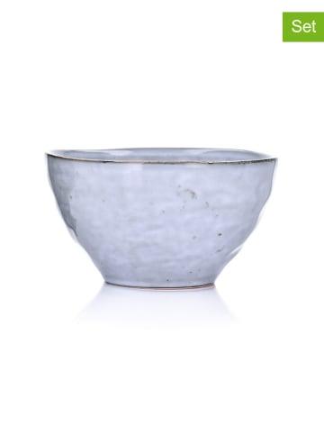 DUKA 2er-Set: Schalen in Blau  - Ø 14,2 cm