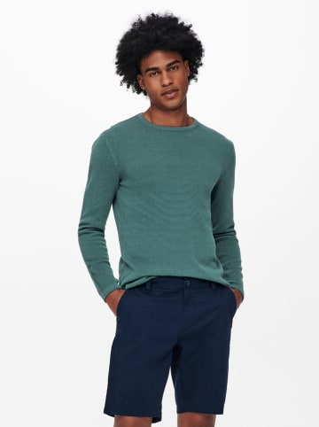 """ONLY & SONS Pullover """"Panter"""" in Petrol"""