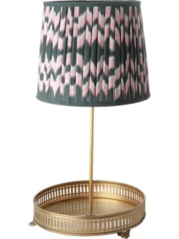 Rice Tafellamp goudkleurig - (H)42,5 cm