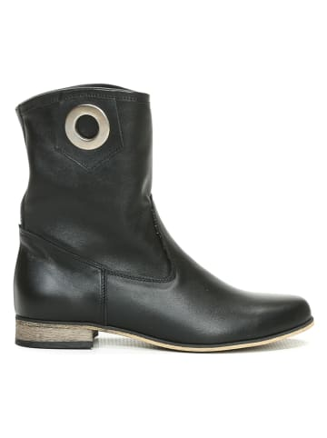 Zapato Leder-Boots in Schwarz