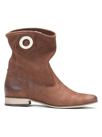Zapato Leder-Boots in Braun