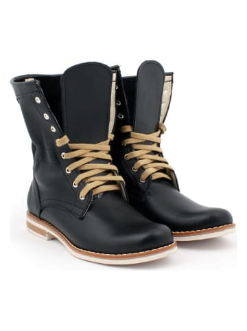 Zapato Leren boots zwart