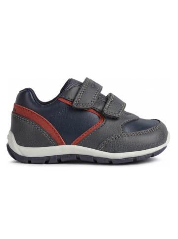 Geox Sneakers grijs/donkerblauw