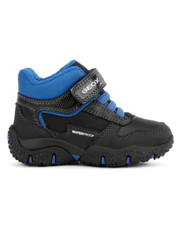 Geox Wandelschoenen zwart/blauw