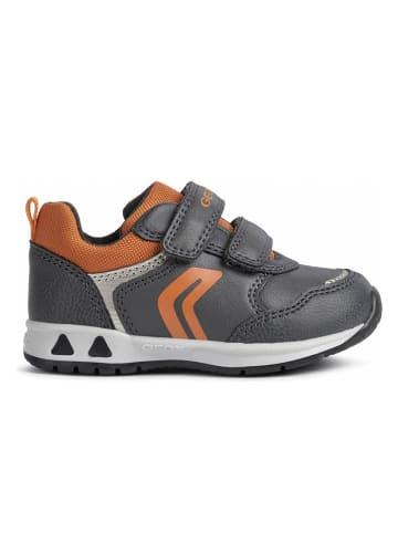 Geox Sneakers grijs/oranje