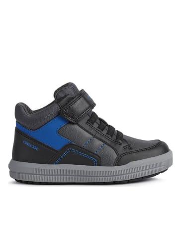 Geox Sneakers in Grau/ Dunkelblau