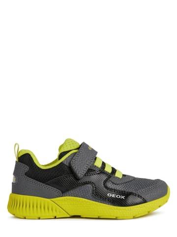 Geox Sneakersy w kolorze szaro-żółtym