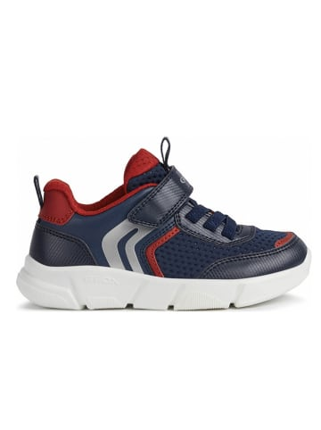 Geox Sneakers donkerblauw/rood