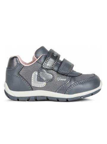 Geox Sneakers zilverkleurig