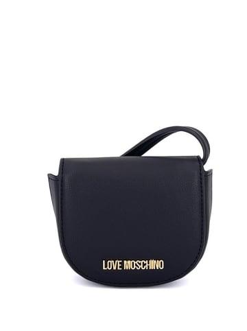Love Moschino Torebka w kolorze czarnym - (S)10 x (W)11,5 x (G)4 cm