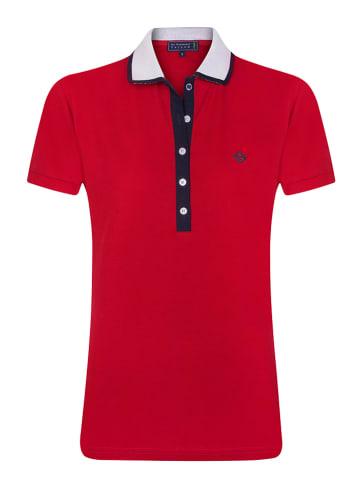 """SIR RAYMOND TAILOR Koszulka polo """"Carina"""" w kolorze czerwonym"""