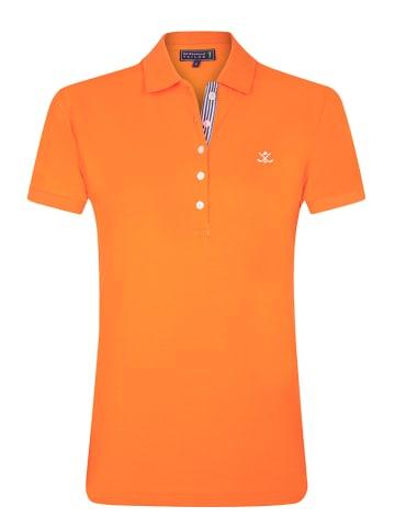 "SIR RAYMOND TAILOR Poloshirt ""Violetta"" oranje"