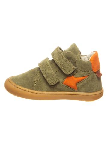 BO-BELL Leren sneakers kaki