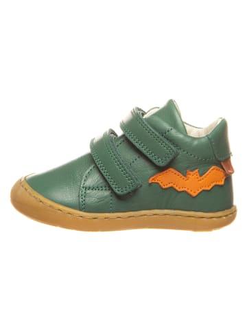 BO-BELL Leren sneakers groen