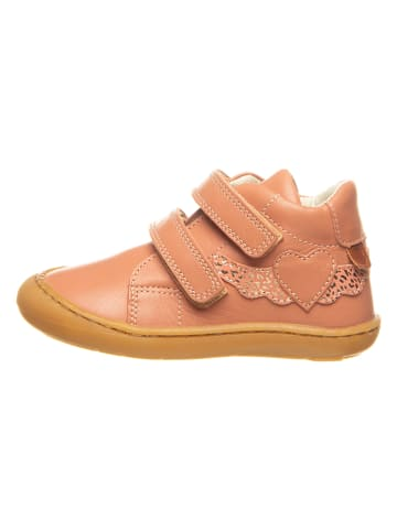BO-BELL Leren sneakers camel