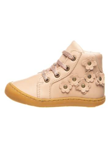 BO-BELL Leder-Sneakers in Rosa