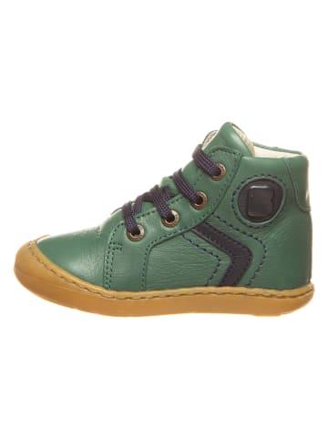 BO-BELL Leder-Sneakers in Grün