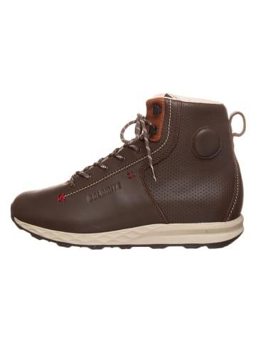 "DOLOMITE Leder-Boots ""54 Move High Lt"" in Braun"