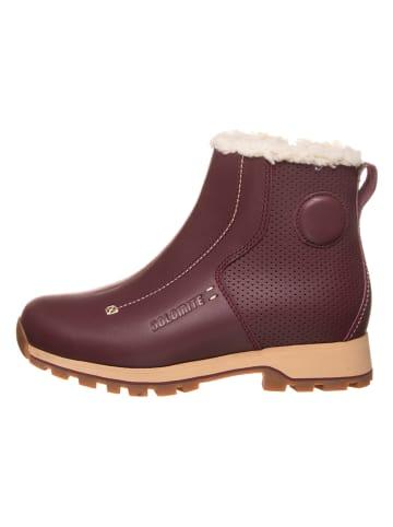 "DOLOMITE Leder-Boots ""54 Move High Lt"" in Bordeaux"