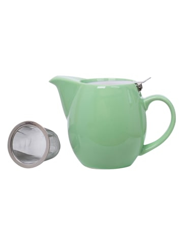 """Overbeck and Friends Theepot """"Happy Time"""" groen - 750 ml"""
