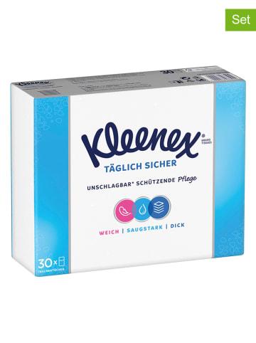 """Kleenex 10er-Set: Taschentücher """"Täglich Sicher"""" - 10x 9 Stück"""