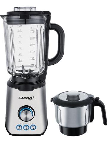 Steba Staande mixer zilverkleurig/zwart - (B)21 x (H)42,5 x (D)17,5 cm