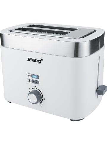 Steba Toaster in Weiß - (B)26 x (H)18,5 x (T)17,5 cm