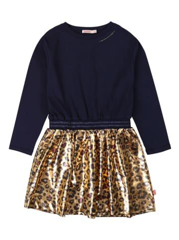Billieblush Sukienka w kolorze złoto-granatowym