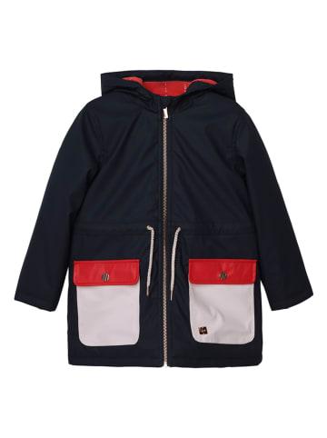 Carrément beau Płaszcz przeciwdeszczowy w kolorze czarnym