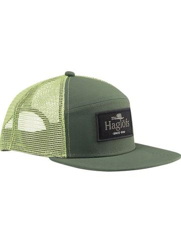 """Haglöfs Czapka """"Trucker"""" w kolorze zielonym"""