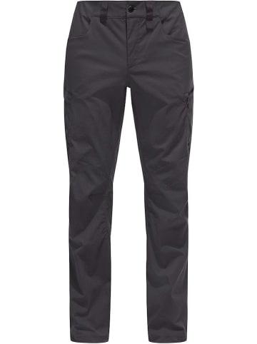 """Haglöfs Spodnie funkcyjne """"Fjell"""" w kolorze antracytowym"""