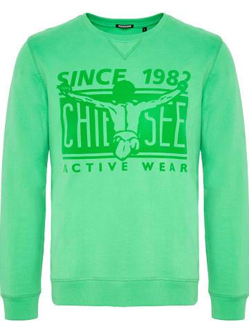 "Chiemsee Sweatshirt ""Mosca"" groen"