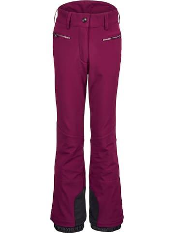 """Killtec Spodnie narciarskie """"Maura"""" w kolorze czerwonym"""