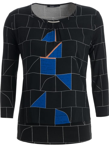 """Frank Walder Koszulka """"Bozen"""" w kolorze czarno-niebieskim"""
