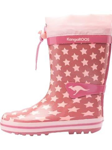 """Kangaroos Kalosze """"K-Rain"""" w kolorze jasnoróżowym"""