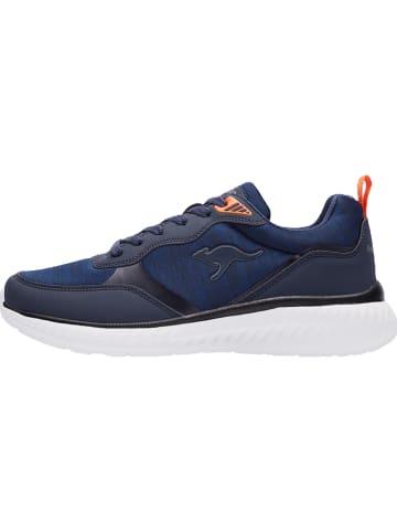 """Kangaroos Sneakersy """"KM-Nuvo"""" w kolorze granatowym"""
