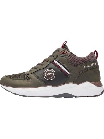 """Kangaroos Sneakersy """"KO-Duro"""" w kolorze khaki"""