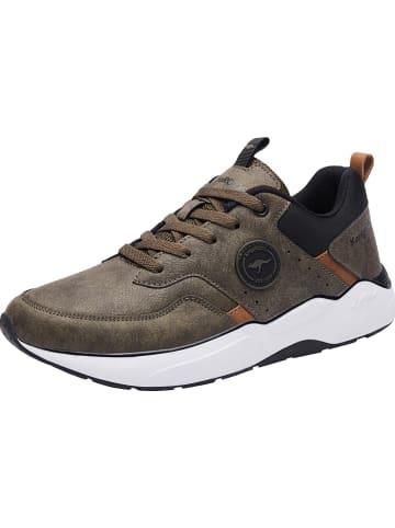 """Kangaroos Sneakersy """"KO-Fio"""" w kolorze khaki"""
