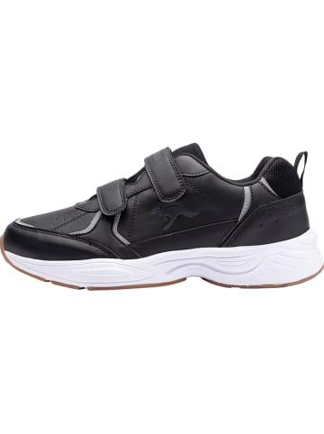 "Kangaroos Sneakersy ""KP-Lex V"" w kolorze czarnym"